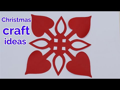 3d Paper Snowflakes Tutorial Christmas Decoration Ideas Handmade