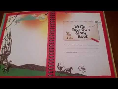 Usborne Books & More: Write Your Own Story Book