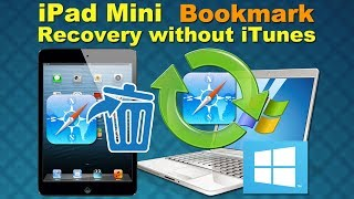 Wondershare Dr.Fone for iPad (Mini): iPad Mini Bookmark Recovery without iTunes Backup