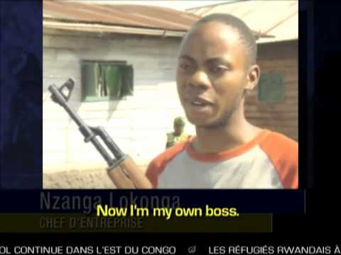 Congo Approves Economic Stimulus Package Of AK-47 For Every Citizen