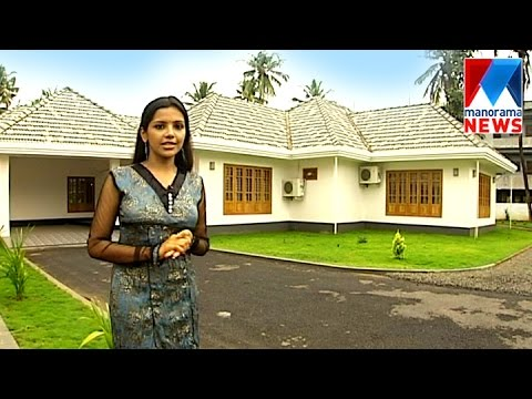 Beautiful Open Style House Veedu Manorama News Youtube