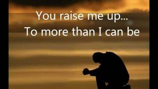 Westlife - You Raise Me Up Lyrics (HD)