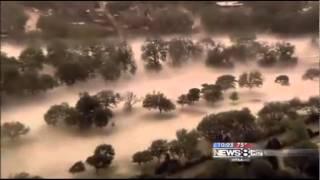 Freakish Hail Storm Pummels Dallas, Texas! (June 15, 2012)