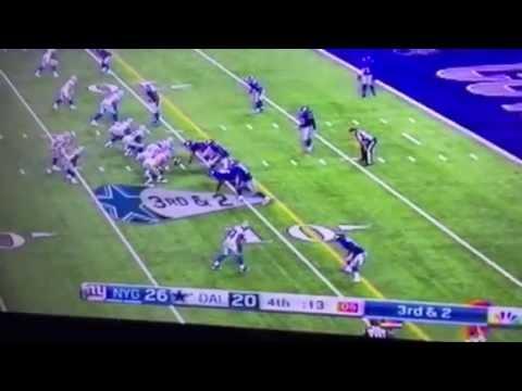 Tony Romo Highlights, Dallas Cowboys Shock NY Giants 26-27 #NYGvsDAL