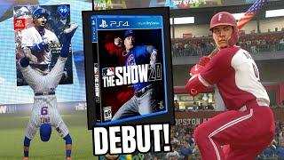 FINEST JAVIER BAEZ DEBUT! COVER ATHLETE MLB THE SHOW 20