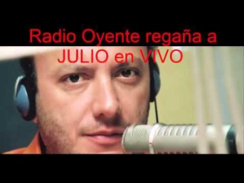 FUERTE Regaño A JULIO SANCHEZ CRISTO De Oyente En Vivo