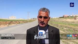تردي الطريق الواصل بين بلدتي العيص والعين البيضاء في الطفيلة - (27-3-2018)
