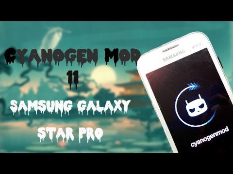Cyanogen Mod 11 for Samsung galaxy star pro