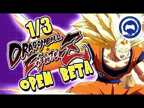 Dragon Ball FighterZ Open Beta | Saturday Special | Stream Four Star
