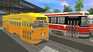 Trainz: A New Era: San Francisco MUNI PCC Streetcar 1052 (SFMTA)