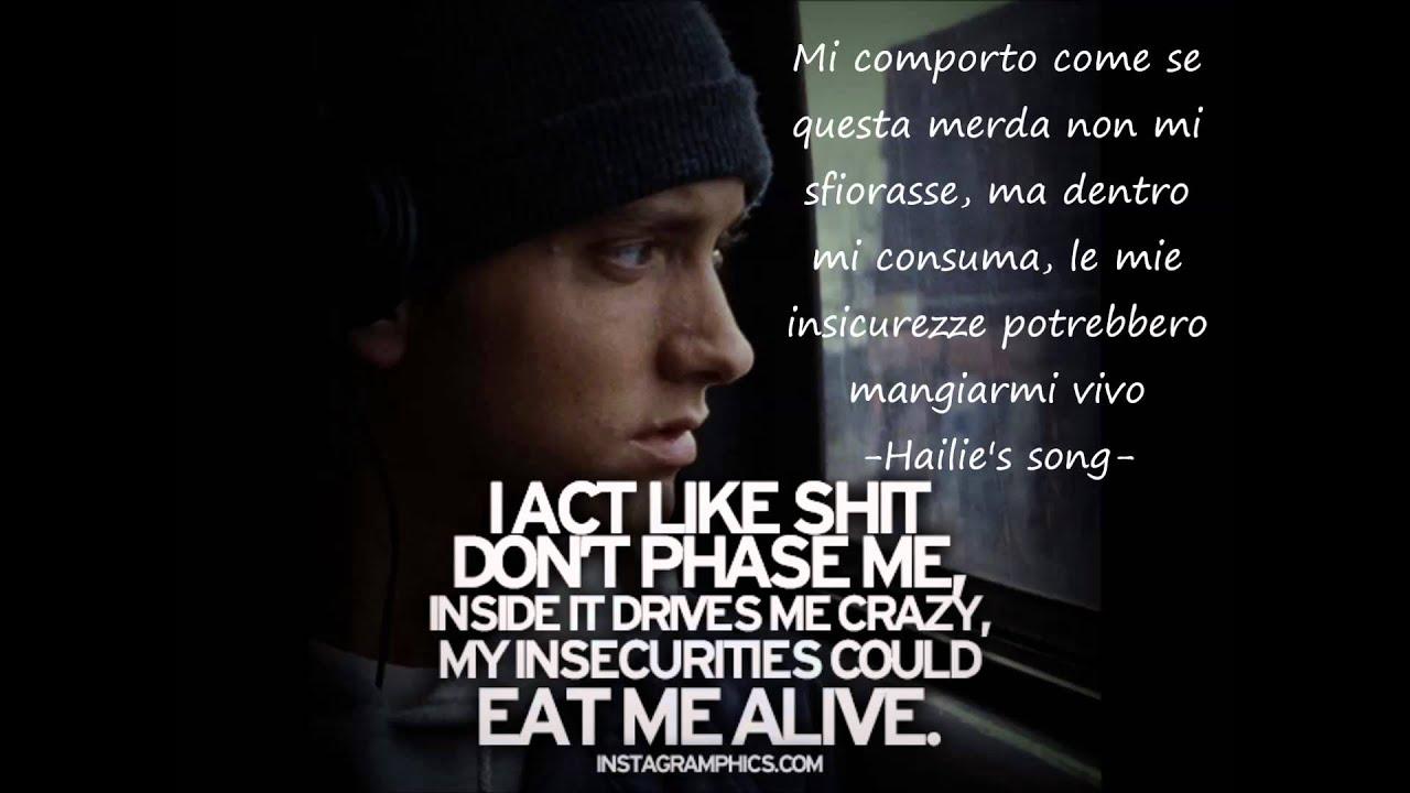 spesso Le frasi più belle di Eminem - YouTube JW98