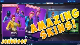 Item Shop Today *AWESOME* Night Beam & Shade SKINS! BULLSEYE Fortnite Skin is back!