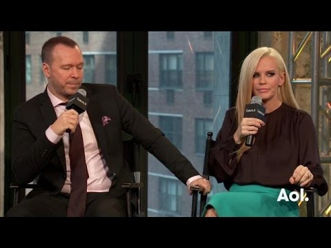 "Donnie Wahlberg and Jenny McCarthy on ""Donnie Loves Jenny"" 