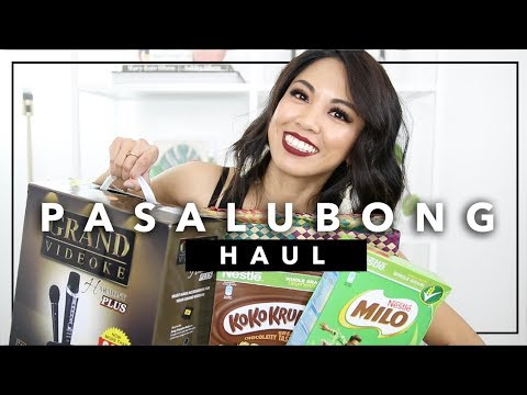 HUGE PASALUBONG HAUL! | What I Bought in the Philippines + Trying Filipino Snacks | beautybitten