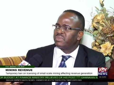 Mining Revenue - The Market Place on Joy News (9-5-17)