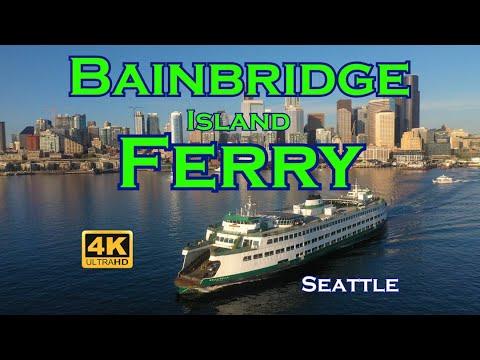 Bainbridge Island Ferry - Seattle To Winslow