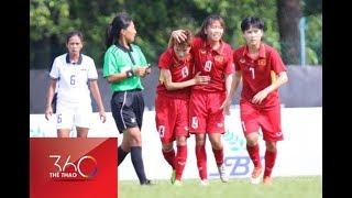 SEA Games 29: Đội tuyển nữ Việt Nam bị Thái Lan cầm chân