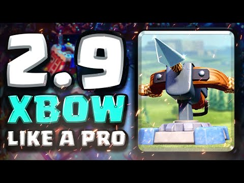 IS XBOW 2.9 CYCLE DEAD IN A BEATDOWN META!? | Clash Royale Ladder Pushing