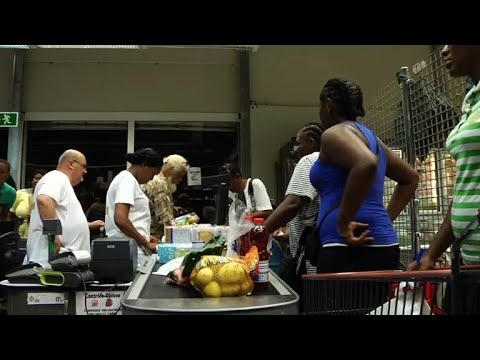 St. Martin residents stock up on supplies before Hurricane Irma