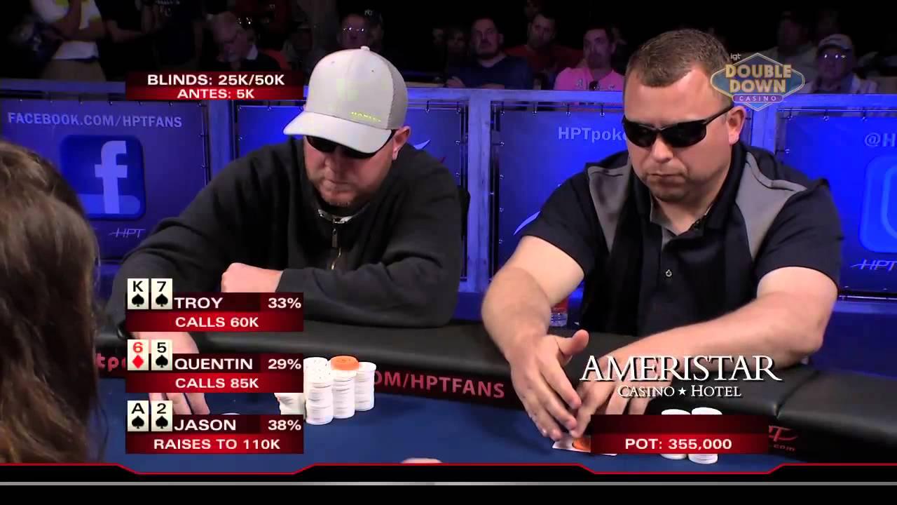 Ameristar kansas city poker tournaments tyco hp2 slot cars