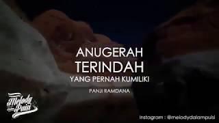 Gambar cover Anugerah Terindah Yang Pernah Kumiliki Melody Dalam Puisi HD 2018