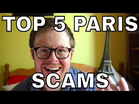Top 5 Paris Scams: Taxi Scam, Gold Ring Scam, Restaurant Scam, Metro Mugging & Street Sellers