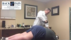 Neck And Back Pain Relief with A Chiropractic Adjustment
