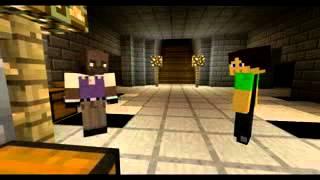 грустное и страшное кино в Minecraft