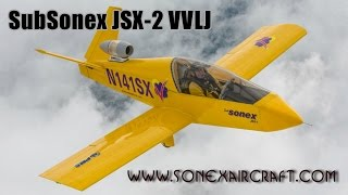 Subsonex Vvlj Jet Aircraft From Sonex Aircraft