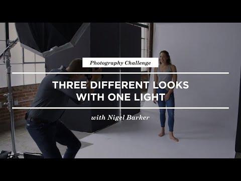 One Light Studio Portrait Tutorial With Nigel Barker | CreativeLive