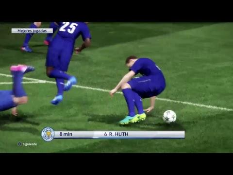 Pes2017: Atlético de Madrid vs Leicester