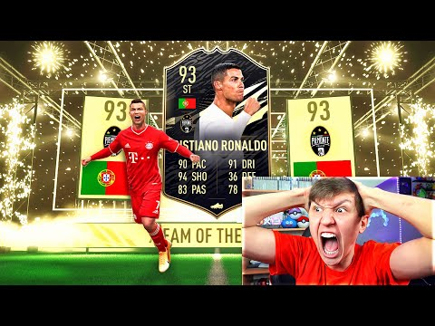 INFORM RONALDO IN A PACK!!!! - FIFA 21 Pack Opening