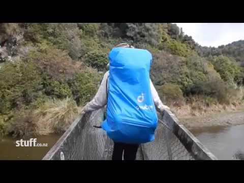Lake Waikaremoana tramping bridge collapse video emerges   Stuff co nz 1 Mp3