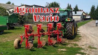#229 Prezentacja pługa Agromasz POV4 Vario