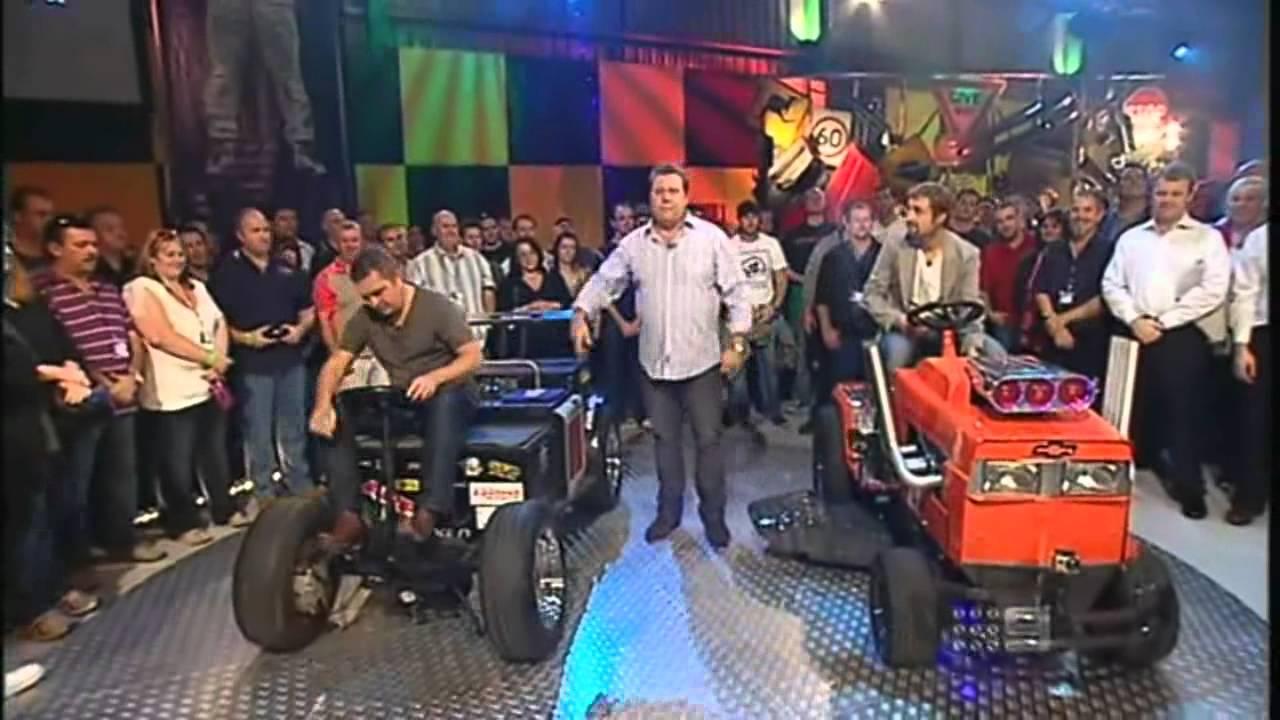 Top Gear Australia V8 Lawn Mower And V8 Eski Youtube