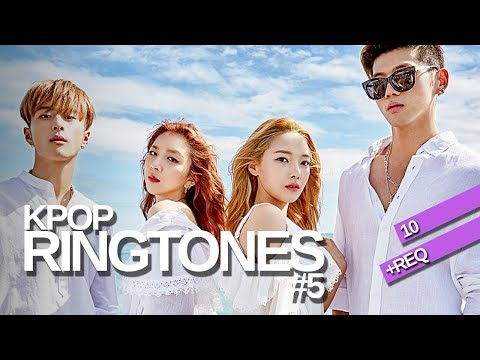 [10+REQ] KPOP RINGTONES #5 | BLACKPINK, 17, Girl's Day, Monsta X and more