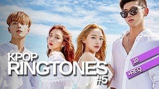 [10+REQ] KPOP RINGTONES #5 | BLACKPINK, 17, Girl's Day, Monsta X and more