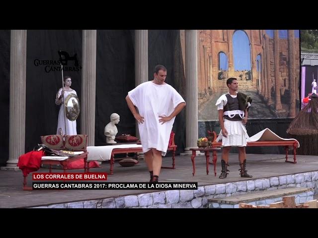 Proclama de la Diosa Minerva y la Boda Cantabra