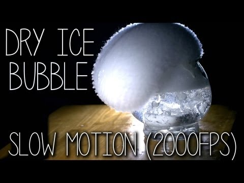 Download Youtube: Epic Dry Ice Bubbles @ 2000FPS Slow Motion