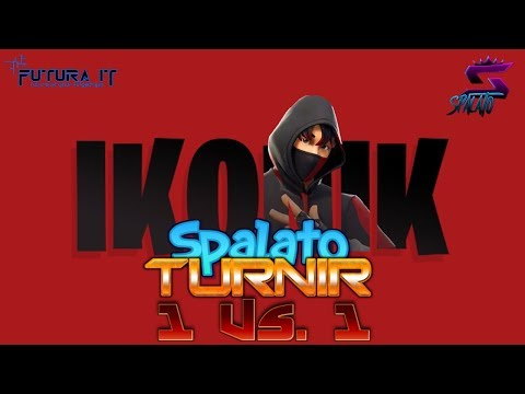 TURNIR - CUSTOMI Solo 1 Vs 1 / Nagrada IKONIK skin! - SPONZOR @vbucks.spacee #Fortnite #Balkan #Live