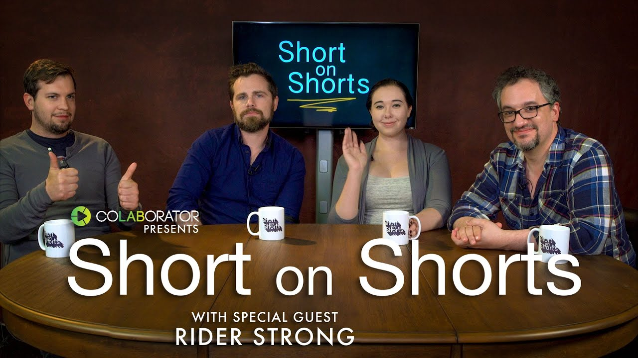 Rider Strong Joins Us This Week on Short on Shorts!