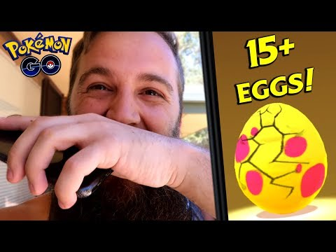 HATCHING 7KM EGGS - THE LUCKY LAST EGG WAS A GAME CHANGER! (POKEMON GO GEN 4) thumbnail