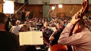 Lucas Vidal Recording the Score for