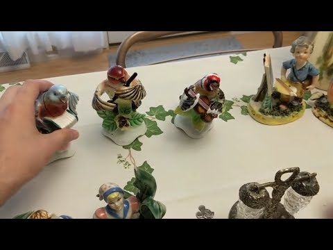 FIGURINES Galore! Lefton, Enesco Japan - Auction Haul