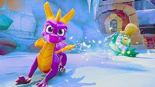 SPYRO THE DRAGON TRILOGY PS4 Remake Gameplay Demo (E3 2018)