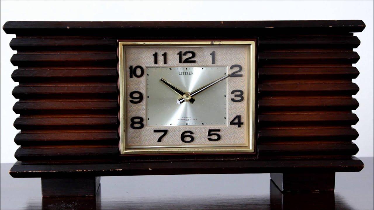 Citizen 4 jewels transistor clock youtube citizen 4 jewels transistor clock amipublicfo Images