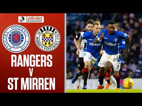 Rangers 4-0 St Mirren | Tavernier Scores Two of FOUR Penalties! | Ladbrokes Premiership