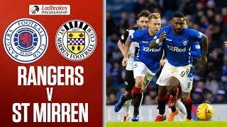 Rangers 4-0 St Mirren | Tavernier Scores Two of FOUR Penalties! | Ladbrokes Premiership