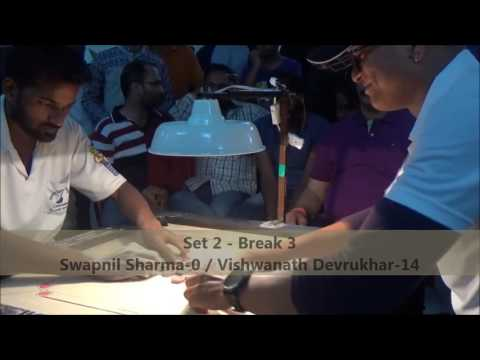 Final Palghar District Carrom Tournament 29 01 2017 Vishwanath Devrukhar Vs Swapni Sharma Set 2