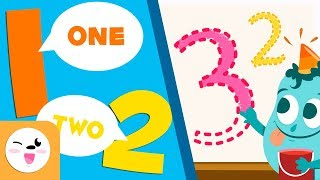 Numbers 1 to 10 - Learn to write and count from 1 to 10